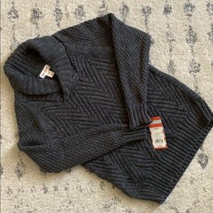 6/7 Charcoal Sweater